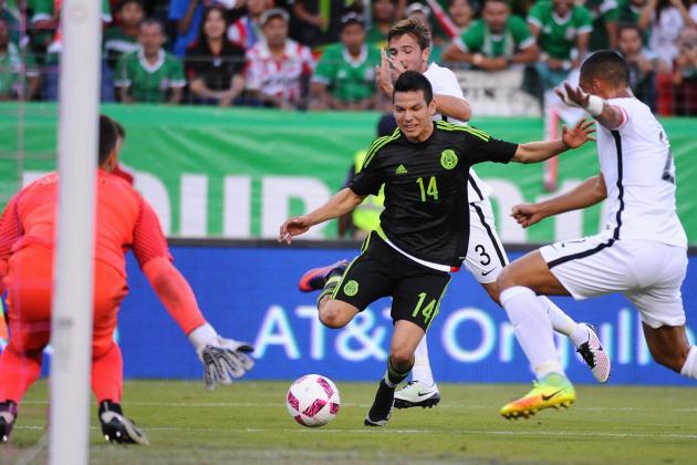 Mexico vs New Zealand ngày 22/6/2017 Vòng bảng Cúp Liên đoàn các châu lục