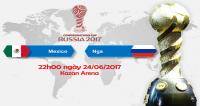 Link sopcast Mexico vs Nga ngày 24/6/2017 Vòng bảng Cúp Liên đoàn các châu lục