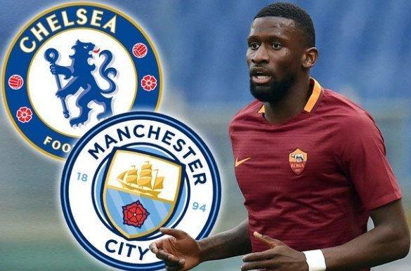 Antonio Rudiger đang cân nhắc gia nhập Chelsea hay Man City