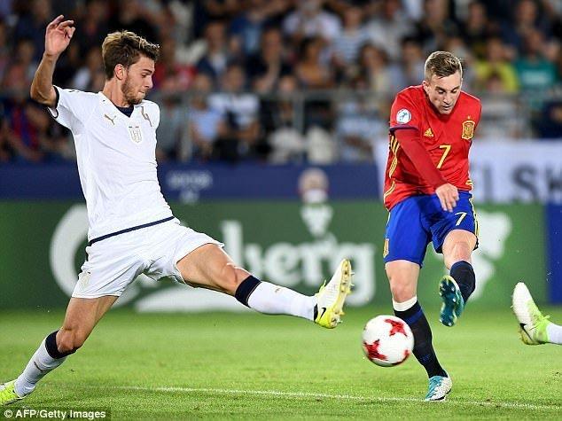 Deulofeu sẽ tiếp tục đóng vai trò dự bị cho bộ ba Lionel Messi, Luis Suarez và Neymar