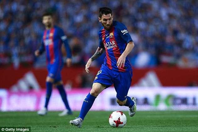 Messi sẽ nhận mức lương 500.000 bảng/tuần