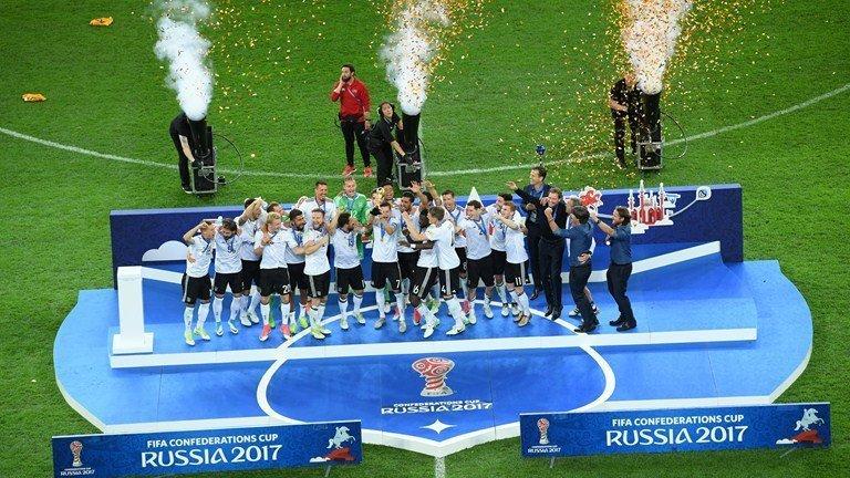 Lần đầu tiên Đức vô địch Confederations Cup