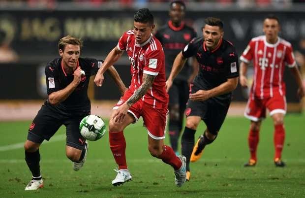 James Rodriguez của Bayern Munich