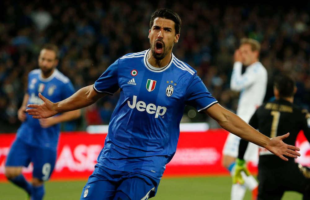 Khedira của Juventus