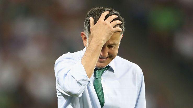 Osorio đã thất bại ở Confederations Cup