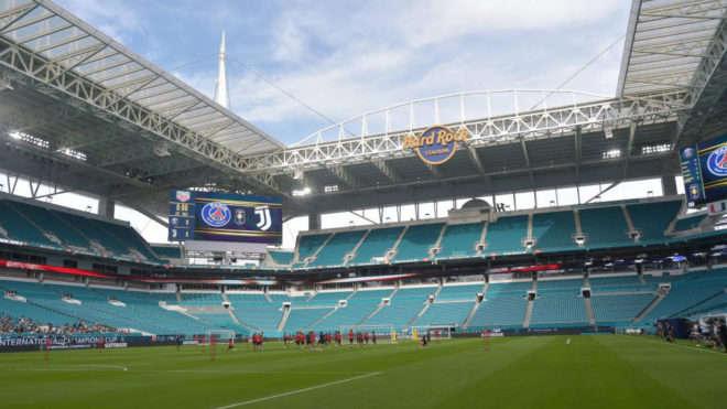 Sân thi đấu ở Miami