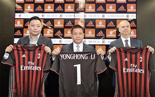 Dòng tiền đầu tư từ Trung Quốc, thông qua Li Yonghong giúp tân CEO Fassone