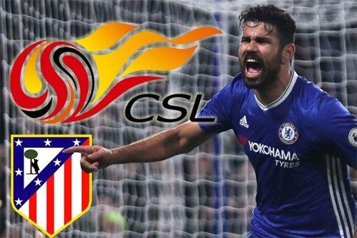 Costa có thể tới Trung Quốc thi đấu nửa cuối năm 2017