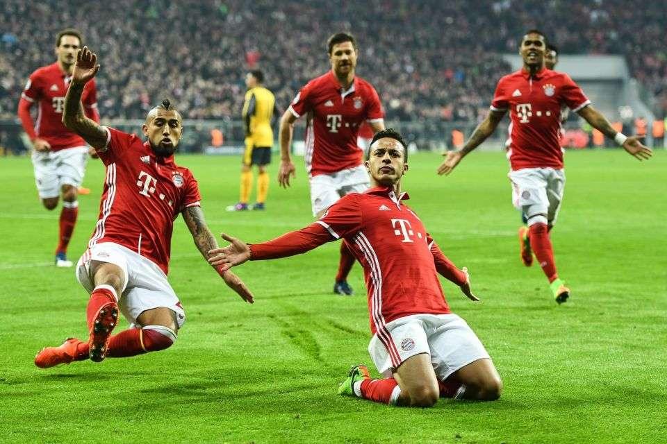 Bayern Munich và Arsenal ngày 19/7/2017 Cúp vô địch quốc tế