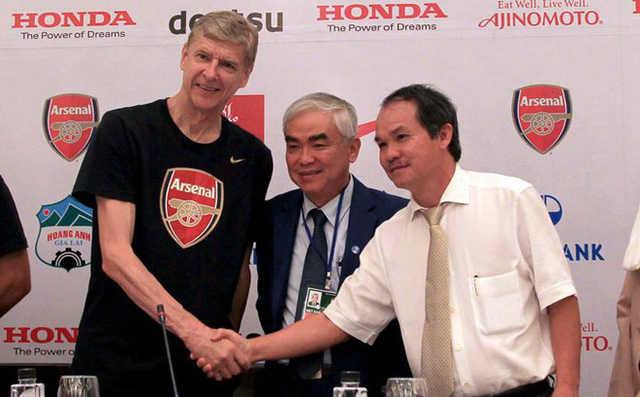 Arsenal và HA Gia Lai không còn hợp tác kể từ tháng 7/2017