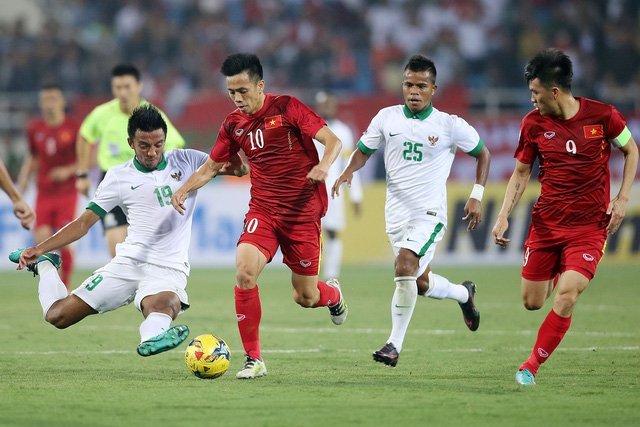 Đội tuyển Việt Nam gục ngã trước Indonesia ở bán kết AFF Cup 2016