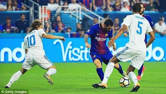 Chơi sắc sảo, Barcelona hạ gục Real Madrid trên đất Mỹ