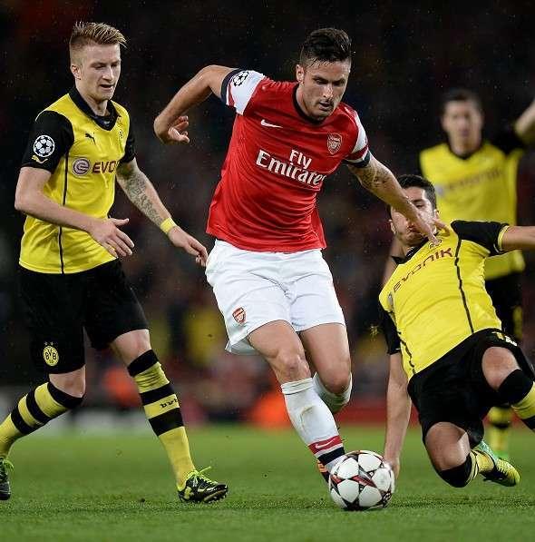 Dortmund để ý đến Giroud