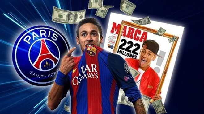 Chuyển nhượng Neymar coi như đã xong 1 nửa