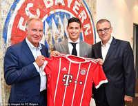 James Rodriguez chính thức ra mắt Bayern Munich trong ngày sinh nhật