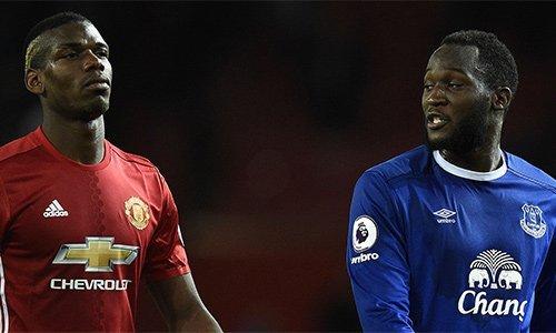 Lukaku và Pogba là hai cầu thủ được mua về với giá đắt nhất Man Utd