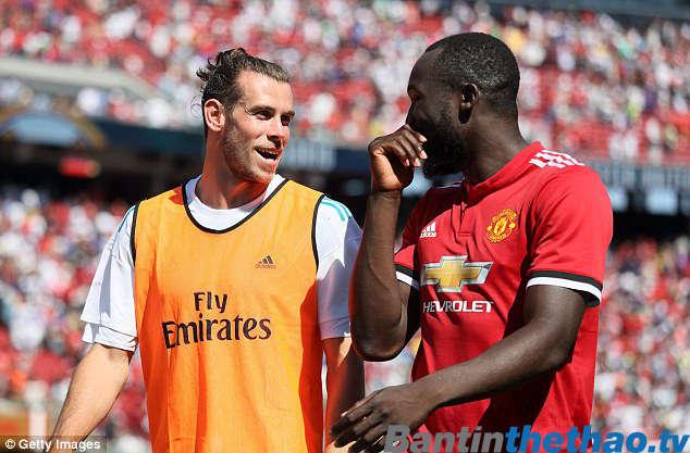 Bale gửi lời chúc mừng Lukaku