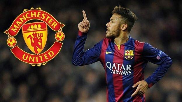 Neymar bóng gió việc gia nhập MU