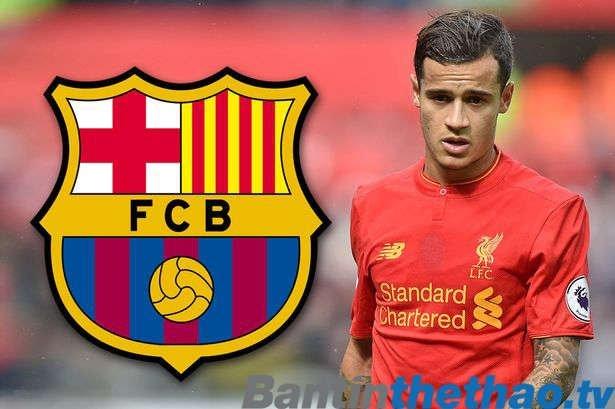 Barca rất quyết tâm với thương vụ Coutinho