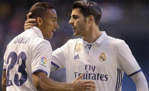 Danilo và Morata đều đem lại cho Real một khoản lớn khi chia tay