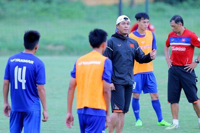 Thầy trò HLV Hữu Thắng tự tin gặp U22 Thái Lan ở SEA Games 29