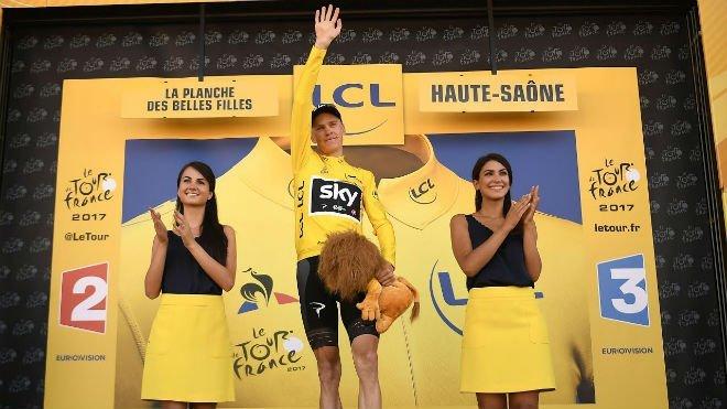 ĐKVĐ Tour de France, Chris Froome chiếm áo vàng sau chặng 5