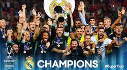 Đánh bại MU, Real xuất sắc dành Siêu cúp Châu Âu