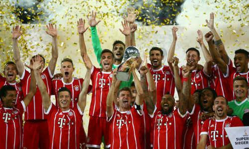 Bayern đánh bại Dortmund giành Siêu Cúp Đức