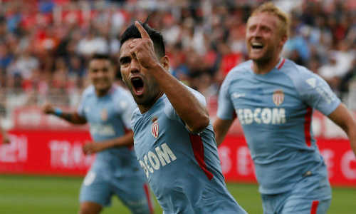 Falcao ghi hat-trick, Monaco đại thắng dù vắng Mbappe