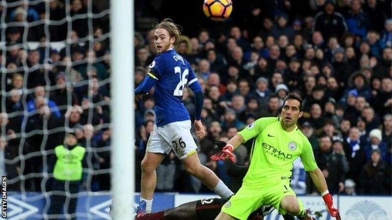 Everton từng thắng Man City 4-0 ở mùa giải trước