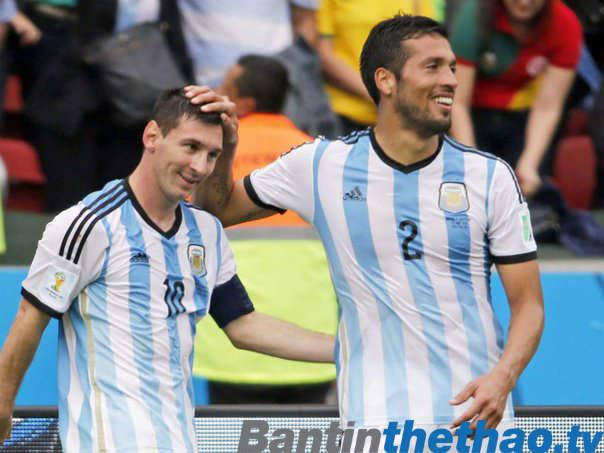 Ezequiel Garay, đồng đội của Messi ở đội tuyển quốc gia