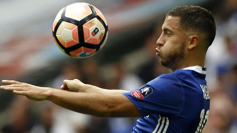 Chelsea chưa có sự phục vụ của Hazard