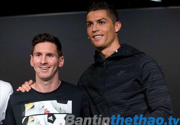 Ronaldo lo cho tương lai của Messi
