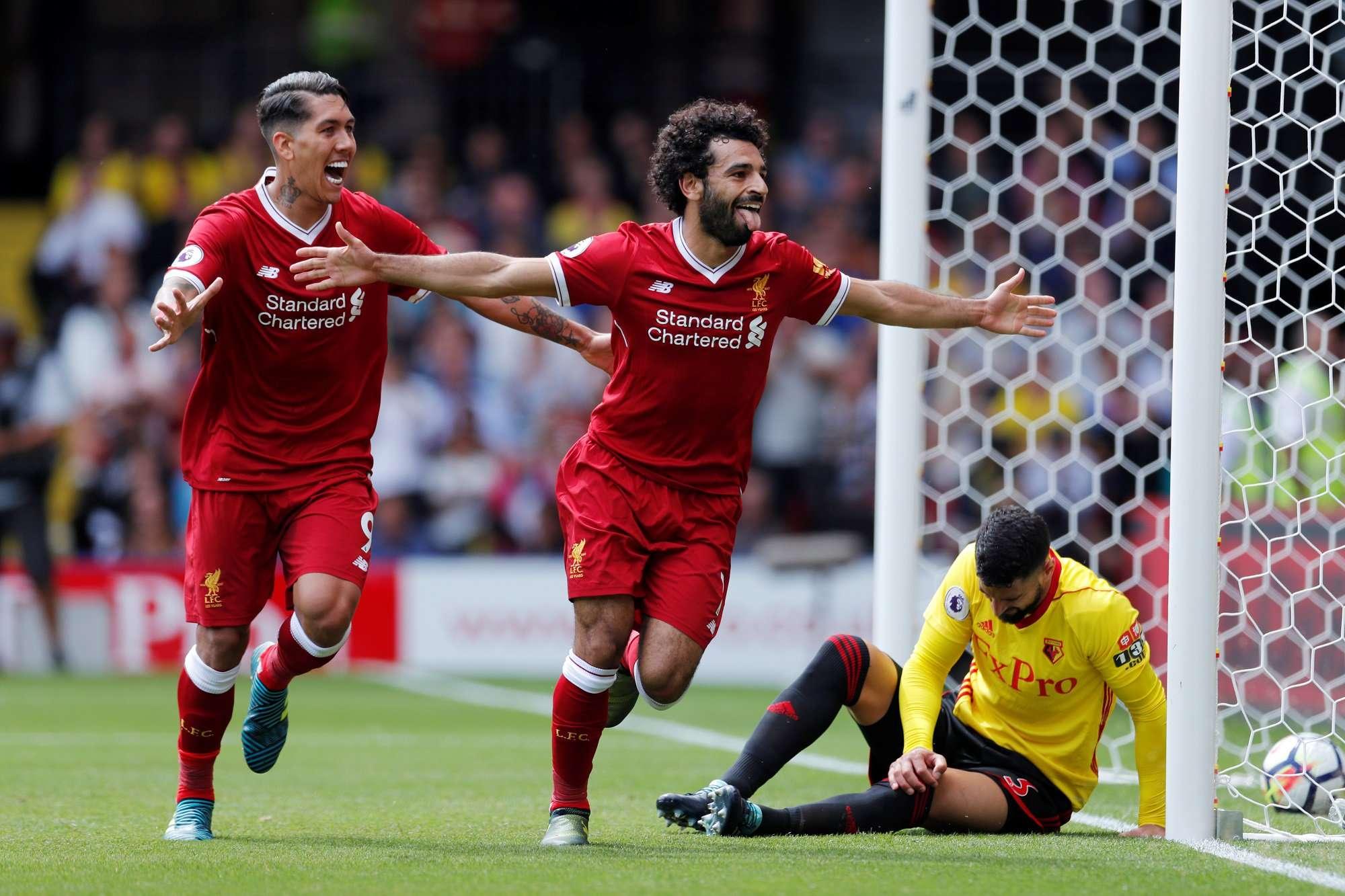 Salah đang có phong độ tốt