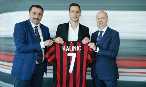 Kalinic là tân binh thứ 11 của Milan trong hè 2017