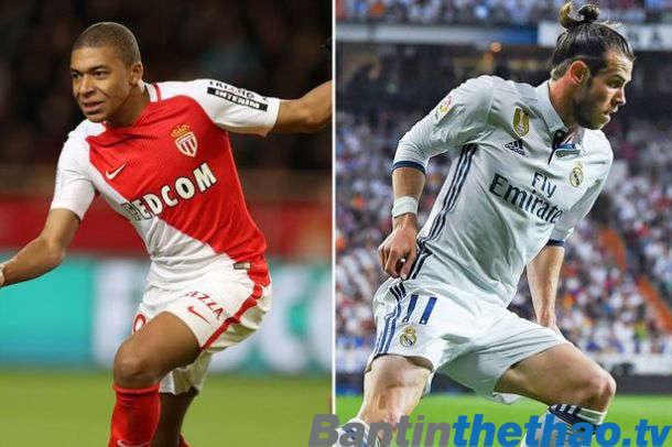 Bale sẽ phải nhường chỗ cho Mbappe