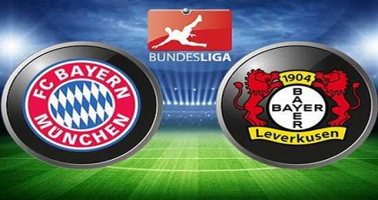 Link sopcast Bayern vs Levekusen ngày 19/8/2017 giải vô địch Bundesliga