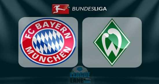Link xem trực tiếp, link sopcast Bayern vs Werder Bremen ngày 26/8/2017 giải vô địch Bundesliga