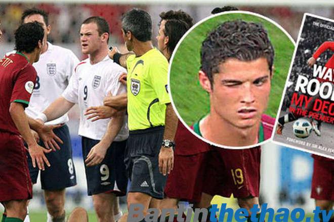 Chiếc thẻ đỏ của Rooney trong trận bán kết với Bồ Đào Nha ở World Cup 2006