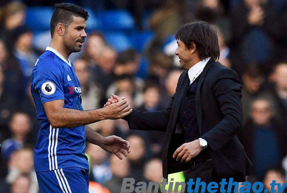 Costa giờ đã là dĩ vãng ở Chelsea