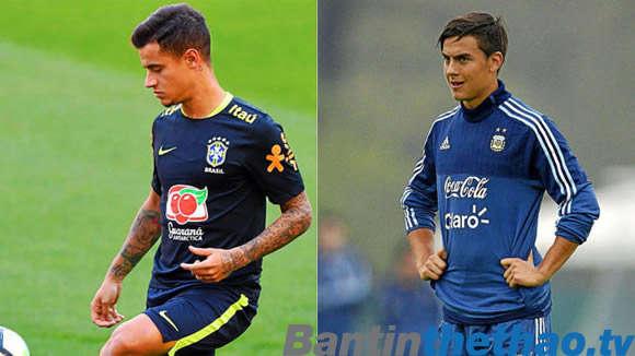Nhiều khả năng Barca không thể có được Coutinho và Dybala