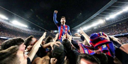 Messi luôn là nhân vật chính trong các chiến thắng của Barca