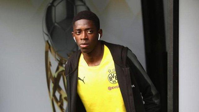 Dortmund không cho phép Dembele sang Barcelona