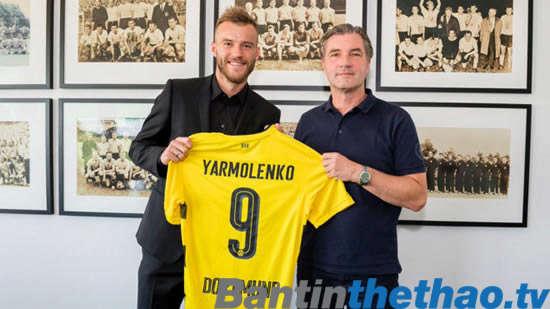 Dortmund ký hợp đồng với Yarmolenko