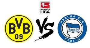 Link xem trực tiếp, link sopcast Dortmund vs Hertha ngày 26/8/2017 giải vô địch Bundesliga