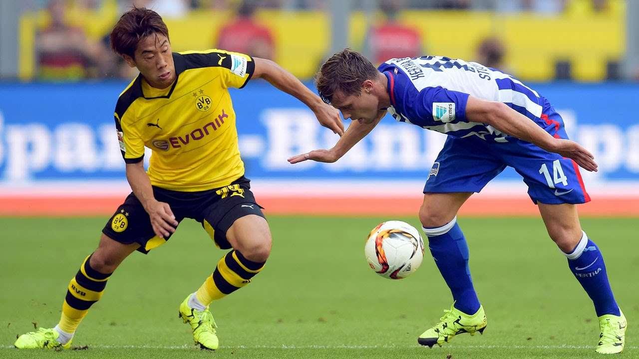 Dortmund vs Hertha ngày 26/8/2017 giải vô địch Bundesliga