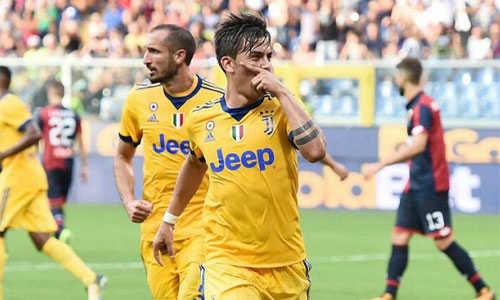 Juventus lội ngược dòng thắng đậm sau khi bị dẫn hai bàn trong bảy phút