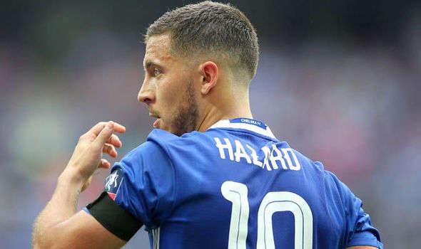 Eden Hazard được đồn muốn rời bỏ Chelsea để sang Barca