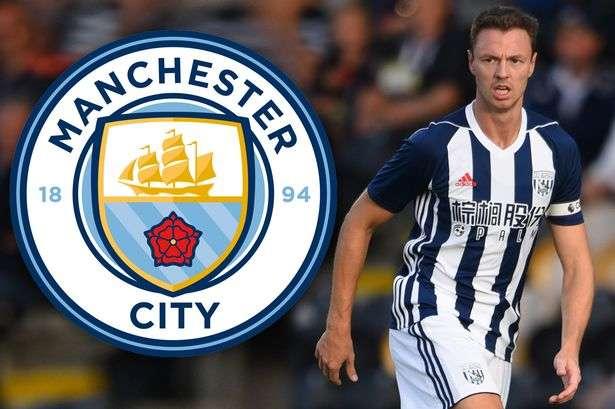 Man City quyết chiêu mộ Jonny Evans