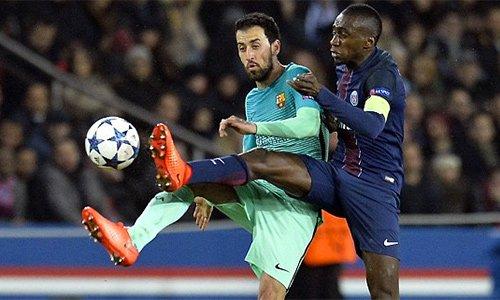 Matuidi (phải) được xem là một bản sao của Makelele - tiền vệ phòng ngự hàng đầu bóng đá Pháp giai đoạn 2000-2006